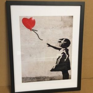 "Betty Boop Mona Lisa Canvas Paint w// Wood Frame 16x20/"""